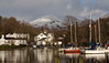 Waterhead & Low Pike, on the eastern arm of the Fairfield horseshoe, from Windermere, 23 January 2009